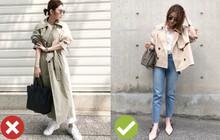 """Khi sắm sửa áo khoác cho mùa lạnh, các nàng thấp bé đừng chọn """"hú họa"""" mà hãy ưu tiên 5 mẫu áo này"""