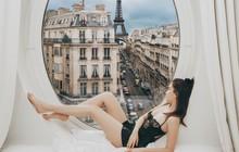 Hóa ra chỉ cần 30 đô và chút kỹ năng chỉnh ảnh, bạn đã có thể sống ảo y hệt như Ngọc Trinh ở Paris nhé!