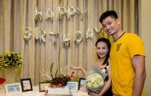 Bảo Thanh rạng rỡ khi bất ngờ được tổ chức sinh nhật sớm bên gia đình