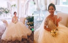 Chị gái Chanyeol lại gây sốt vì diện váy cưới lộng lẫy như công chúa, nhan sắc đỉnh cao trong ảnh chưa chỉnh sửa