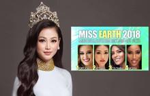 Đại diện Việt Nam được Missosology dự đoán lọt Top 2 thí sinh có ngôi vị cao nhất Miss Earth 2018