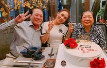 Mỹ Tâm nhí nhảnh hết cỡ, cùng đại gia đình tổ chức sinh nhật cho mẹ