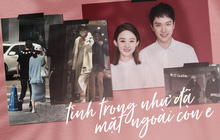 """Hành trình tình yêu của Triệu Lệ Dĩnh - Phùng Thiệu Phong: Từ lấm lét thấp thỏm đến bị đồn """"cưới chạy bầu"""""""
