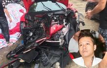 Hình ảnh xế khủng 16 tỷ được cho là của Tuấn Hưng gặp tai nạn nát đầu lan truyền MXH
