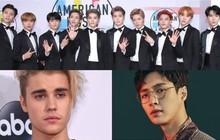 """Sau """"ông hoàng R&B"""" John Legend, gà nhà SM tiếp tục hợp tác cùng Justin Bieber"""