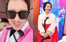 """Đăng ảnh cùng Nhã Phương trong chuyến đi trăng mật Hàn Quốc, Trường Giang hài hước gọi vợ là """"Rảnh phi"""""""