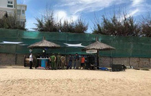 1 du khách Nga tử vong trên bãi biển Mũi Né