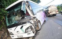 Tai nạn liên hoàn trên đèo Bảo Lộc, nhiều người bị thương