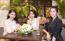 Trước ngày lên đường thi Miss international, Thùy Tiên vui vẻ hội ngộ cùng 2 đại diện Việt Nam các năm trước