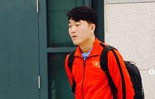 """Xuân Trường đẹp như trai Hàn, Trọng """"Ỉn"""" ngơ ngác khi ngồi ở sân bay Hàn Quốc"""