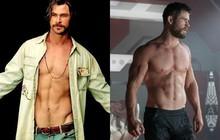 """Nín thở với chiếc bụng 8 ngăn thần thánh của """"Thần Sấm"""" Chris Hemsworth trong """"Bad Times at the El Royale"""""""