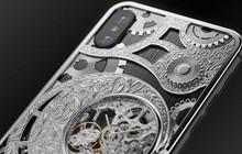 iPhone XS cực độc từ nước Nga, mang trên lưng cả một chiếc đồng hồ cơ lộ máy, giá từ 6000 USD