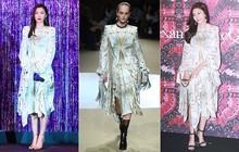 """Diễn viên và người mẫu vẫn quá khác biệt: Jeon Ji Hyun và Kim Ha Neul thần thái ngút trời cũng """"chịu thua"""" khi diện váy xuề xòa"""