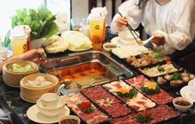 """""""Thị tẩm"""" hương vị ẩm thực Trung Hoa trong nồi lẩu thang máy đang gây sốt khắp Thủ đô"""