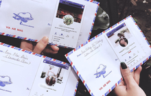 Mừng cưới thời 4.0: Cả nhóm in hình trang Facebook cá nhân dán lên phong bì cho cô dâu chú rể đỡ nhầm
