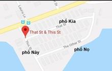 Mở Google Maps lên mà xem Canada đặt tên đường: Phố Này, phố Nọ và phố Kia