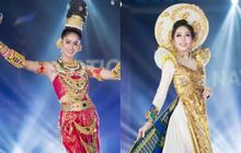 Chính thức: Phương Nga đứng thứ 2 trong 5 bộ trang phục dân tộc được bình chọn nhiều nhất tại Miss Grand International 2018
