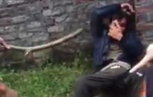Vĩnh Phúc: Đối tượng trộm chó bị dân bắt quả tang, đuổi đánh gục bên đường