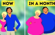 Các cặp đôi càng yêu nhau thì càng dễ béo lên - sự thật đã được khoa học chứng minh