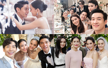 Choáng ngợp hôn lễ mỹ nhân thị phi nhất Thái Lan và chồng kém 10 tuổi, nhưng hoành tráng nhất là dàn siêu sao đến dự