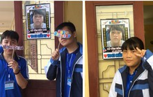 Bạn thân kiểu mới: In ảnh dìm hàng thành poster dán hết cửa lớp để... chúc mừng sinh nhật