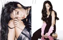 Jennie (Black Pink) lấp ló đôi gò bồng đảo, đẹp sang chảnh như tiểu thư tài phiệt trên tạp chí danh tiếng