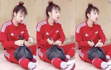 Nữ cầu thủ có gương mặt baby, được tìm kiếm trên khắp diễn đàn của U19 Việt Nam