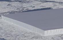 NASA công bố hình ảnh tảng băng trôi hình chữ nhật vuông thành sắc cạnh, xưa nay chưa nhìn thấy bao giờ