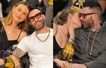 Ai cũng phải ghen tị khi nhìn vợ chồng Adam Levine cưới nhau 4 năm vẫn ôm hôn hạnh phúc giữa nơi đông người!