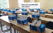 """Tranh cãi chuyện các nam sinh bị dân mạng hỏi ngược: """"Mua cho mẹ đôi dép nào chưa?"""" khi tặng giày hiệu cho con gái trong lớp"""