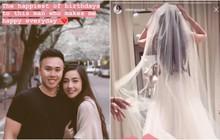Mie Nguyễn khoe ảnh diện váy cưới lộng lẫy sau gần 1 tháng được cầu hôn