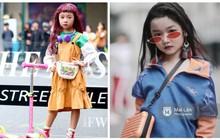 """2 mẫu nhí nổi bật với street style ấn tượng ở VIFW: 5,6 tuổi đã sở hữu thần thái """"không phải dạng vừa"""""""
