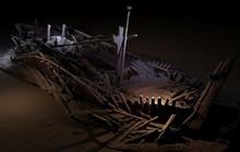 Tìm thấy xác tàu đắm nguyên vẹn cổ nhất thế giới dưới đáy Biển Đen