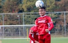 Xuân Trường, Công Phượng và đồng đội tuyển Việt Nam chăm chỉ tập chơi bóng bổng