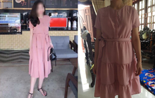 Lại thêm tai nạn mua hàng online cười ra nước mắt: nhận váy giống y mẫu, chỉ khác mỗi... chất vải