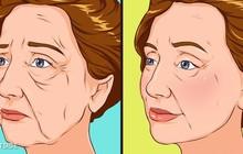 5 cách tự nhiên cứu nguy cho da mặt chảy xệ, da cổ nhăn nheo mà không cần phẫu thuật thẩm mỹ hay tiêm botox