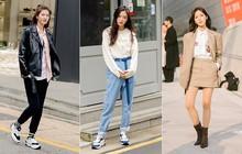 """Street style giới trẻ Hàn tuần qua sẽ khiến bạn thốt lên """"cool quá đáng"""" và tuyệt nhất là bạn cũng có thể mặc cool như vậy"""