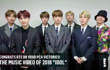 """BTS càn quét lễ trao giải """"People's Choice Award"""" 2018: Thắng hết tất cả các hạng mục được đề cử!"""