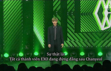 """""""Nặng nghiệp"""" như Chanyeol (EXO): Cao 1m86, đứng đầu hàng không ai nhìn thấy đội hình đằng sau hết!"""