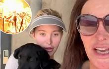 Bố chuyển giới của Kendall và bạn gái mừng rỡ vì nhà vẫn còn nguyên sau vụ cháy lớn ở California