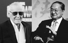 Chưa đầy 2 tuần, điện ảnh thế giới lần lượt mất đi 2 vĩ nhân trụ cột là Kim Dung và Stan Lee!