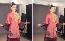 """Tiểu Vy mặc áo dài, mang """"Lạc trôi"""" trình diễn trong phần thi tài năng tại Miss World 2018"""