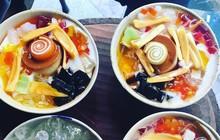 Sài Gòn có những món đếm mãi không hết những loại topping ăn kèm