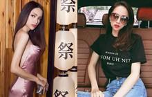 Lại tiếp tục đến Hương Giang minh chứng cho việc gầy mặc đồ đẹp, nhưng gầy quá thì không!
