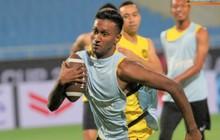 Tuyển Malaysia chơi game lạ trong buổi tập cuối cùng trước khi chạm trán tuyển Việt Nam