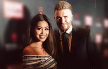 Hot girl hội Rich Kid - Thảo Tiên khoe ảnh chụp chung với David Beckham ở Singapore