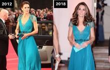 Thời gian Công nương Kate diện lại đồ cũ có khi lên đến vài năm, nhưng lạ thay chúng vẫn vẹn nguyên tính thời trang