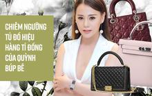 Quỳnh Búp bê Phương Oanh chứng tỏ độ ăn chơi với tủ đồ hiệu lên đến hàng tỉ đồng