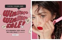 """3CE mở đợt sale mùa đông lên đến 70%, nhiều màu son """"hot hit"""" được giảm sâu chỉ còn hơn 100k"""