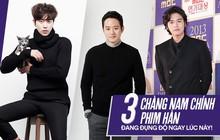 Gặp ngay ba chàng nam chính phim Hàn đang đụng độ quyết liệt trên màn ảnh nhỏ lúc này!